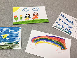Sending Postcards of Love and Hope