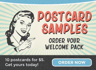 Order our postcard Welcome Pack